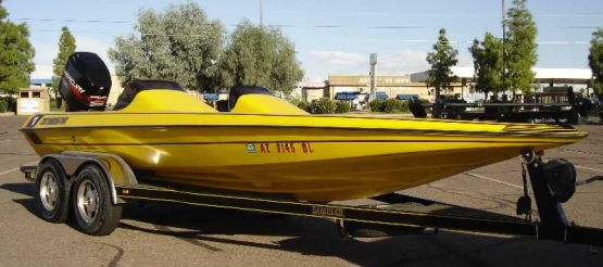 Gambler Logo - Gambler bass boat decals