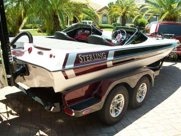 Gambler - Gambler bass boat decals