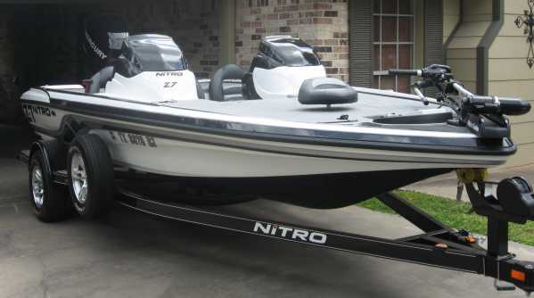 GREAT QUALITY BOAT COVER NITRO 929 CDX 2000 01 02 03 04 05 06
