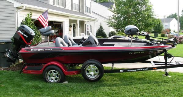 2002 ranger bass boat