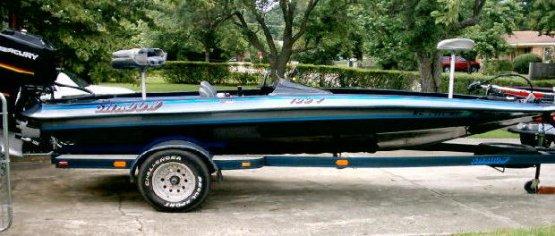 Shadow - Gambler bass boat decals