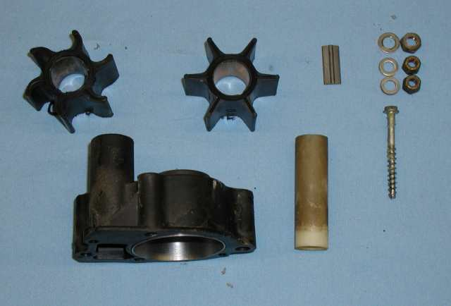 Envinrude 150 xp impeller replacement. how to replace impeller on